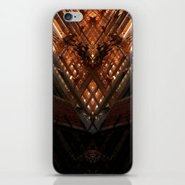 grand place brussels rorschach symmetry caleidoscope mirror iPhone Skin