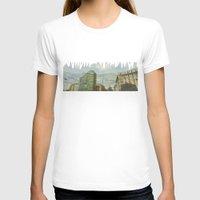 milan T-shirts featuring Milan - Underground by Sandra Liarte