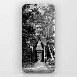Deserted in the jungle iPhone Skin
