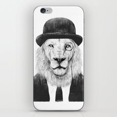 Sir lion iPhone & iPod Skin