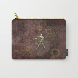 Steampunk Zodiac  Libra Carry-All Pouch