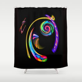 Abstract Perfection 5 Shower Curtain