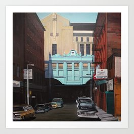 North Station Art Print
