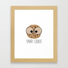 Smart Cookie Framed Art Print