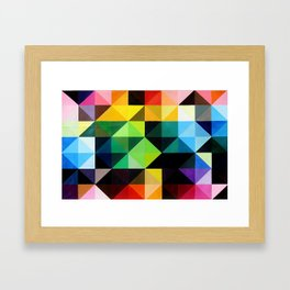 Vivid Order Framed Art Print