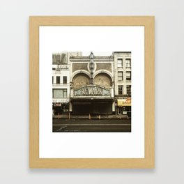 Paramount Theater, Newark Framed Art Print