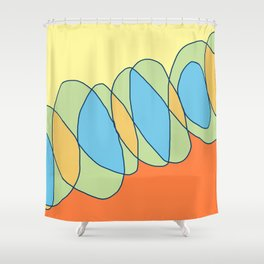 Interlace Shower Curtain