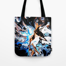 Magic Nebula Tote Bag