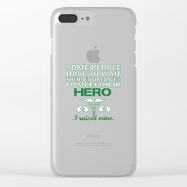 THE NURSE'S DAD Clear iPhone Case