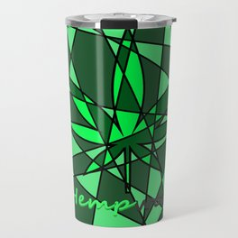 Hempworx Abstract Design Travel Mug