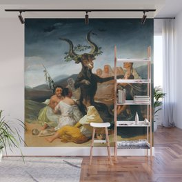 """Francisco Goya """"The Sabbath of witches"""" Wall Mural"""