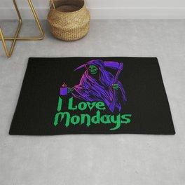 I Love Mondays Rug