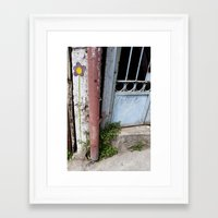 chile Framed Art Prints featuring Chile by Lauren Ellis