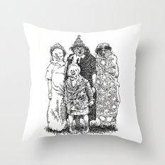 Trick R' Treat Throw Pillow