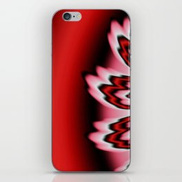 Red Feathers iPhone Skin