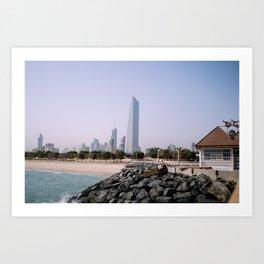 Kuwait Cityscape Art Print