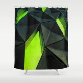 Dark Kryptonite by Brian Vegas Shower Curtain