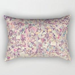 Love Locked Rectangular Pillow