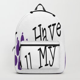 All My Children Have Paws Backpack