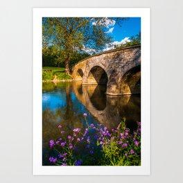 Burnside Bridge 01 Art Print