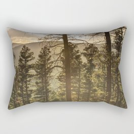Mountain Forest New Mexico - Nature Photography Rectangular Pillow