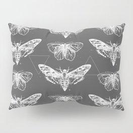 Geometric Moths inverted Pillow Sham