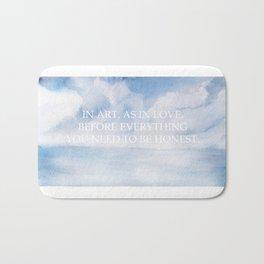 Love is art Bath Mat