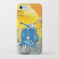 vespa iPhone & iPod Cases featuring Vespa by 83 Oranges™