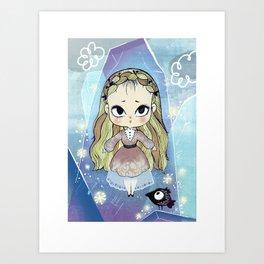 ice baby Art Print