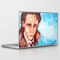 tom hiddleston Laptop & iPad Skins featuring Hiddleston by AlysIndigo