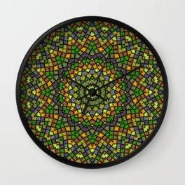 Ethnic round ornament Wall Clock