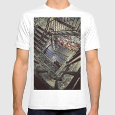 Tacheles MEDIUM White Mens Fitted Tee