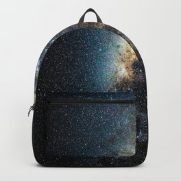 Space Stars Milky Way Galaxy Astronomy Nature Photography Backpack