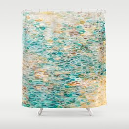 Serenity By The Sea Shower Curtain