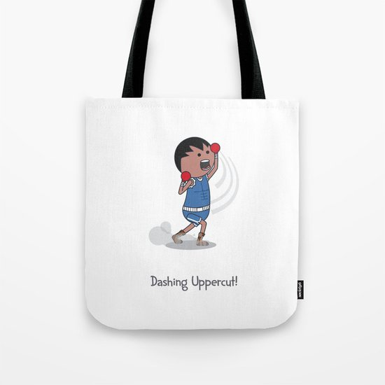 Dashing Uppercut Tote Bag