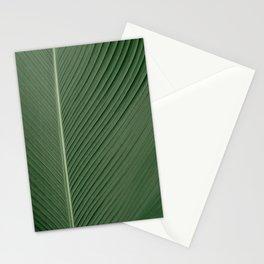 Green Banana Leaf Stationery Cards