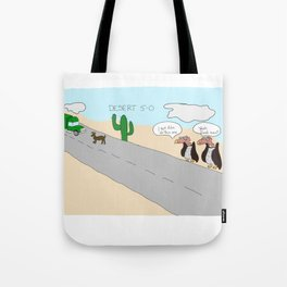 Desert 5-0 Tote Bag