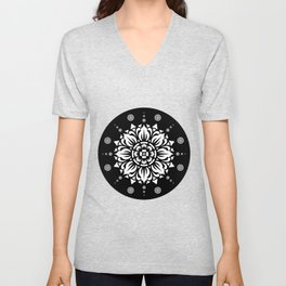 PATTERN ART01 Unisex V-Neck