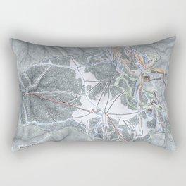 Bogus Basin  Resort Trail Map Rectangular Pillow