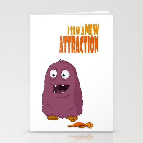 New Attraction Stationery Cards