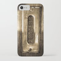 letters iPhone & iPod Cases featuring Letters by BD Photo