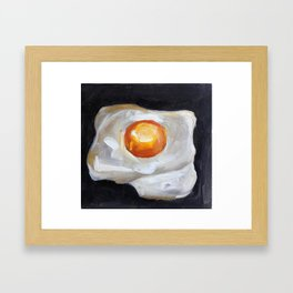 Food, eggs, breakfast, omelette Framed Art Print
