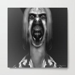 """Study for a Portrait, No. 257"" Metal Print"