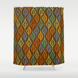 Autumn leaves pattern I Shower Curtain