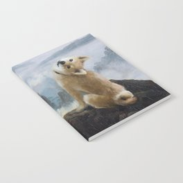 The Wanderer Above the Sea of Doge Notebook