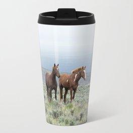 Wild Horses - Steens No. 1 Travel Mug