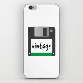 Vintage Floppy Disk iPhone Skin