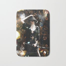 Steampunk Rogue, Metal Element Bath Mat