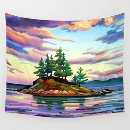 Skedans Islet Wall Tapestry