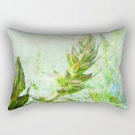 growing lupine Rectangular Pillow